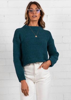 Zulu Sweater  - Emerald