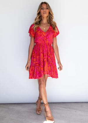 Miles Apart Dress - Janis Paisley