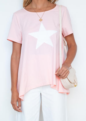 Starry Nights Tee - Blush