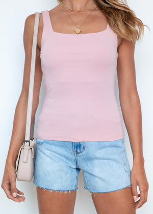 Cruel Summer Cami - Blush