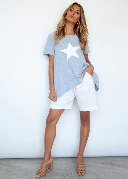 Starry Nights Tee - Grey