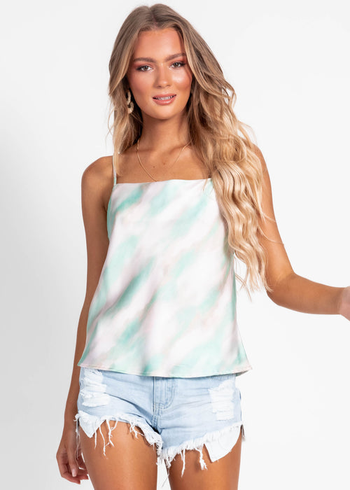 Day Break Cami - Mint