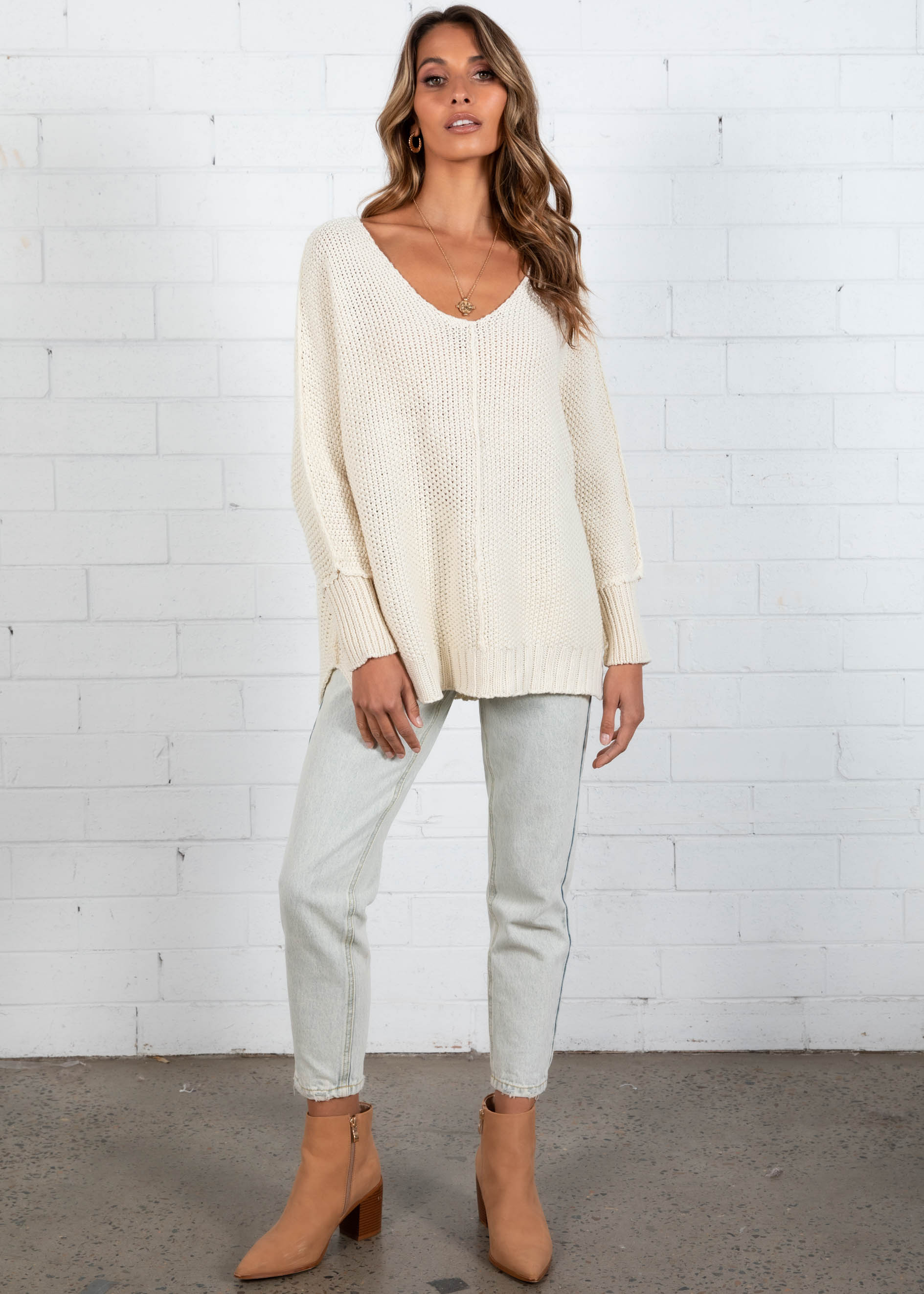 Saffino Sweater - Beige