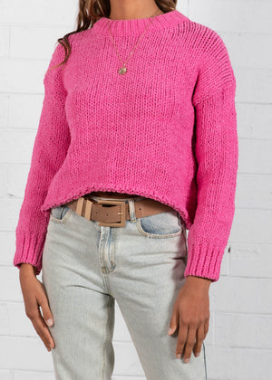 Zulu Sweater  - Magenta