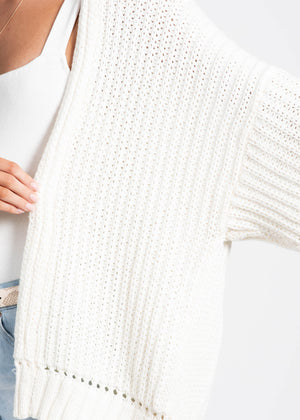 Free As a Bird Cardigan - Off White