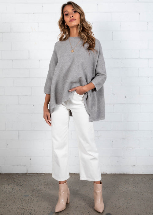 Allira Sweater - Grey