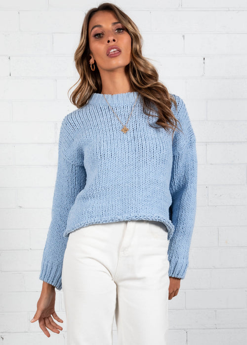 Zulu Sweater  - Baby Blue
