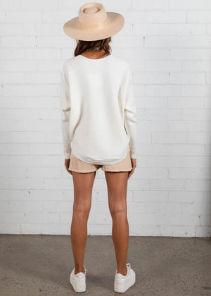 Better With You Sweater - Cream