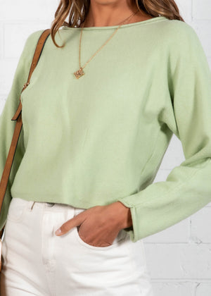 Quick Decider Sweater - Mint