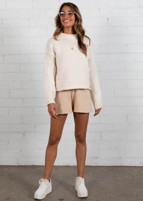 Zulu Sweater  - Cream