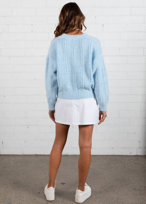 Always Remember Sweater - Blue