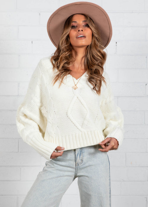 Marissa Sweater - Cream