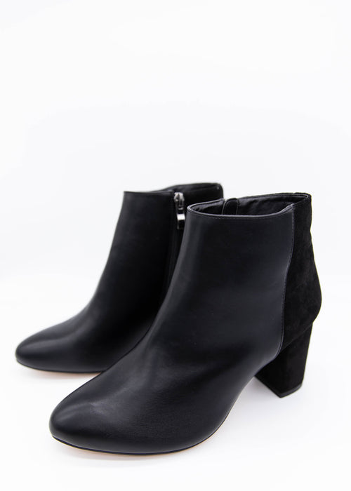 Moss Ankle Boots - Black