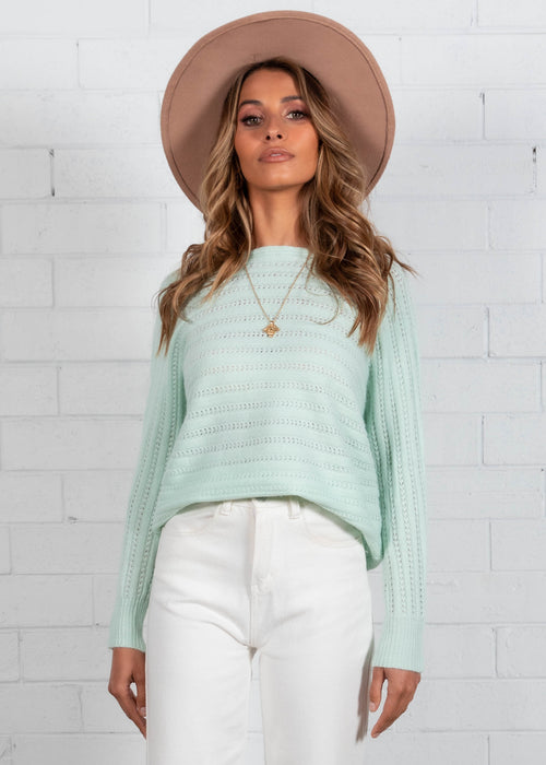 Hensely Sweater - Mint