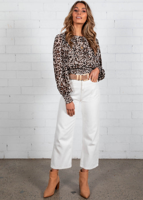 All Good Things Top - Leopard