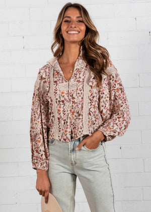 Sonnet Blouse - Potter
