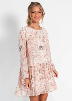 Dancing On My Own Dress - Blush Paisley