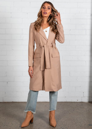 Harmony Trench Coat - Camel