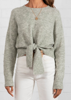 Home Stay Sweater - Sage