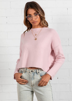 Harpah Sweater - Blush