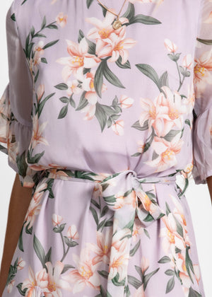 Feminine Touch Dress - Lillac Lily
