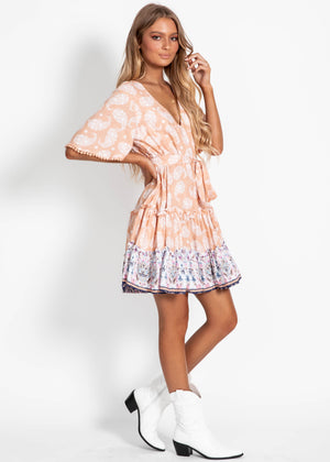 Daya Short Sleeve Dress - Nara