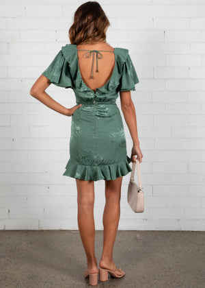 Merida Dress - Khaki