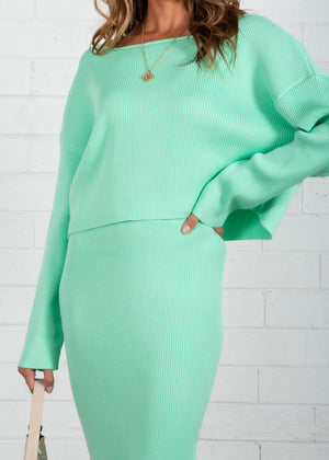 Harlyn Knit Set - Mint