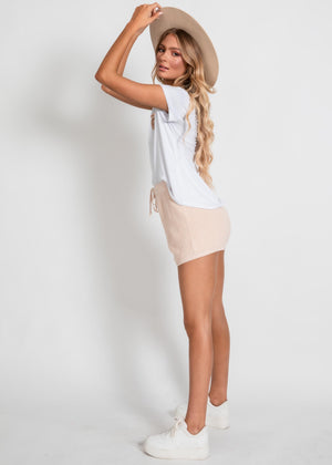 Humble Knit Shorts - Beige