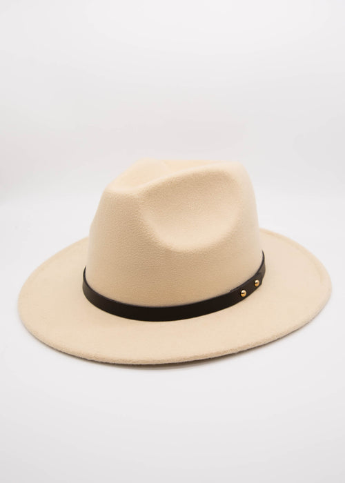 Chesney Fedora - Cream