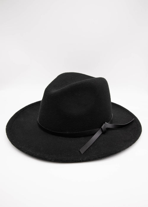 Analia Fedora - Black