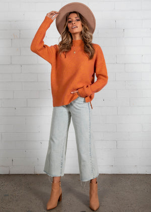 Hartley Sweater - Tangerine