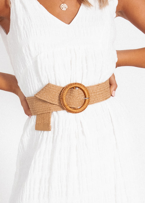 Salerno Belt - Natural