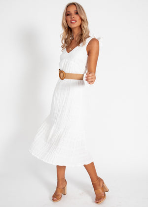 Elsie Maxi Dress - White