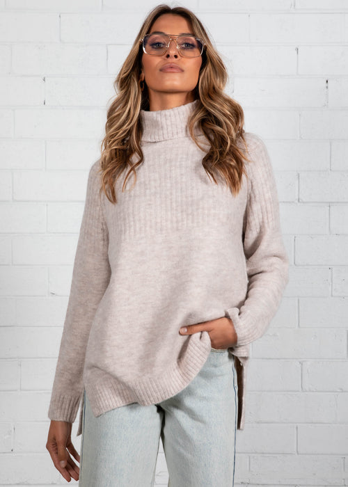 All Loved Up Sweater - Oatmeal
