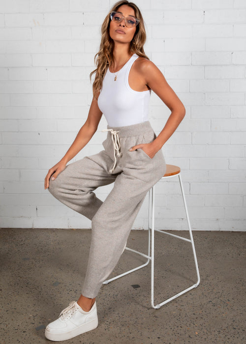 Zahava Knit Pants - Grey
