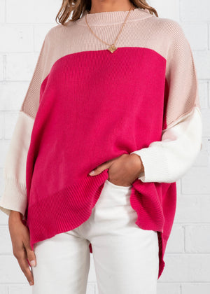 Serina Sweater - Magenta
