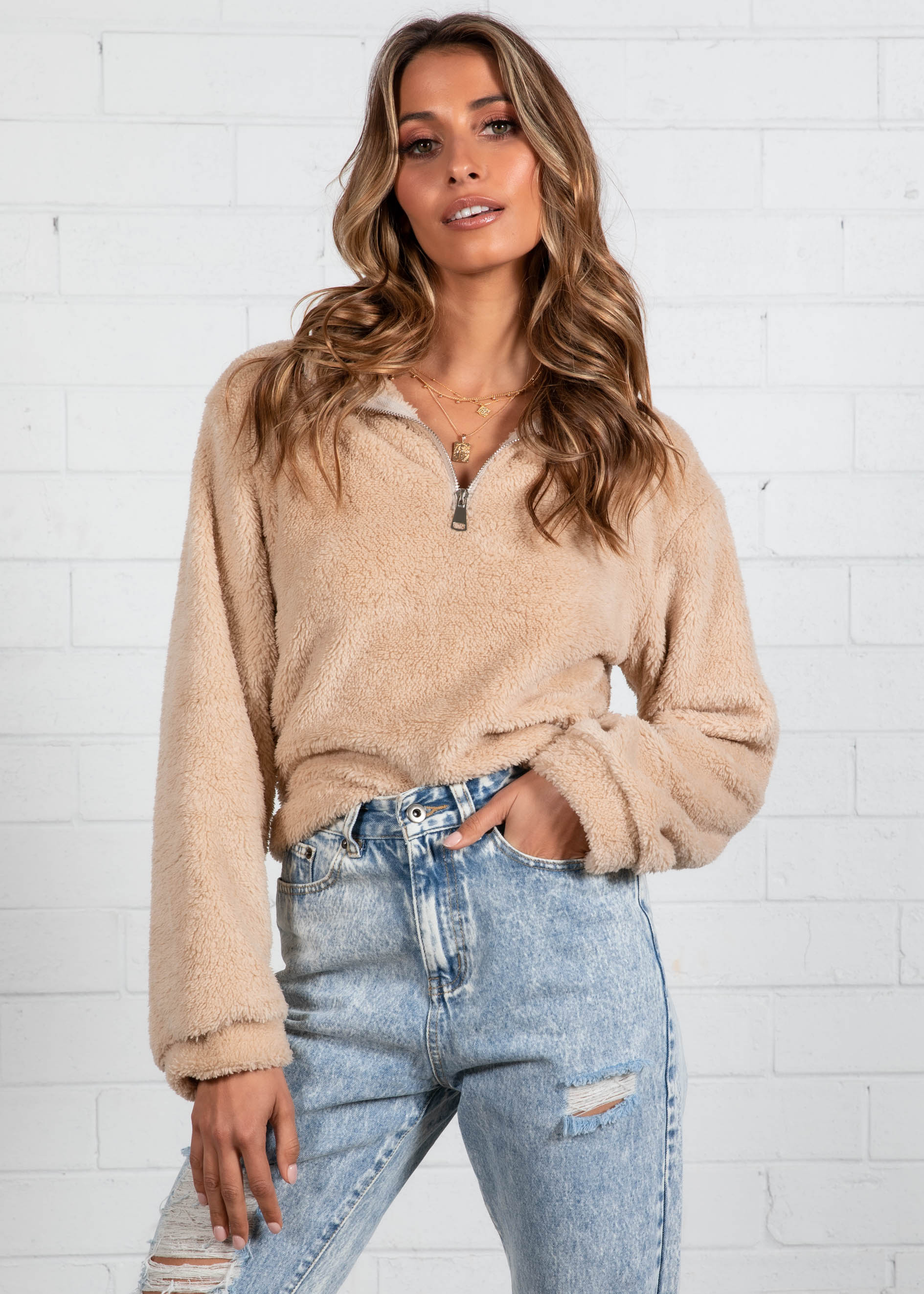 Aspen Sweater - Beige