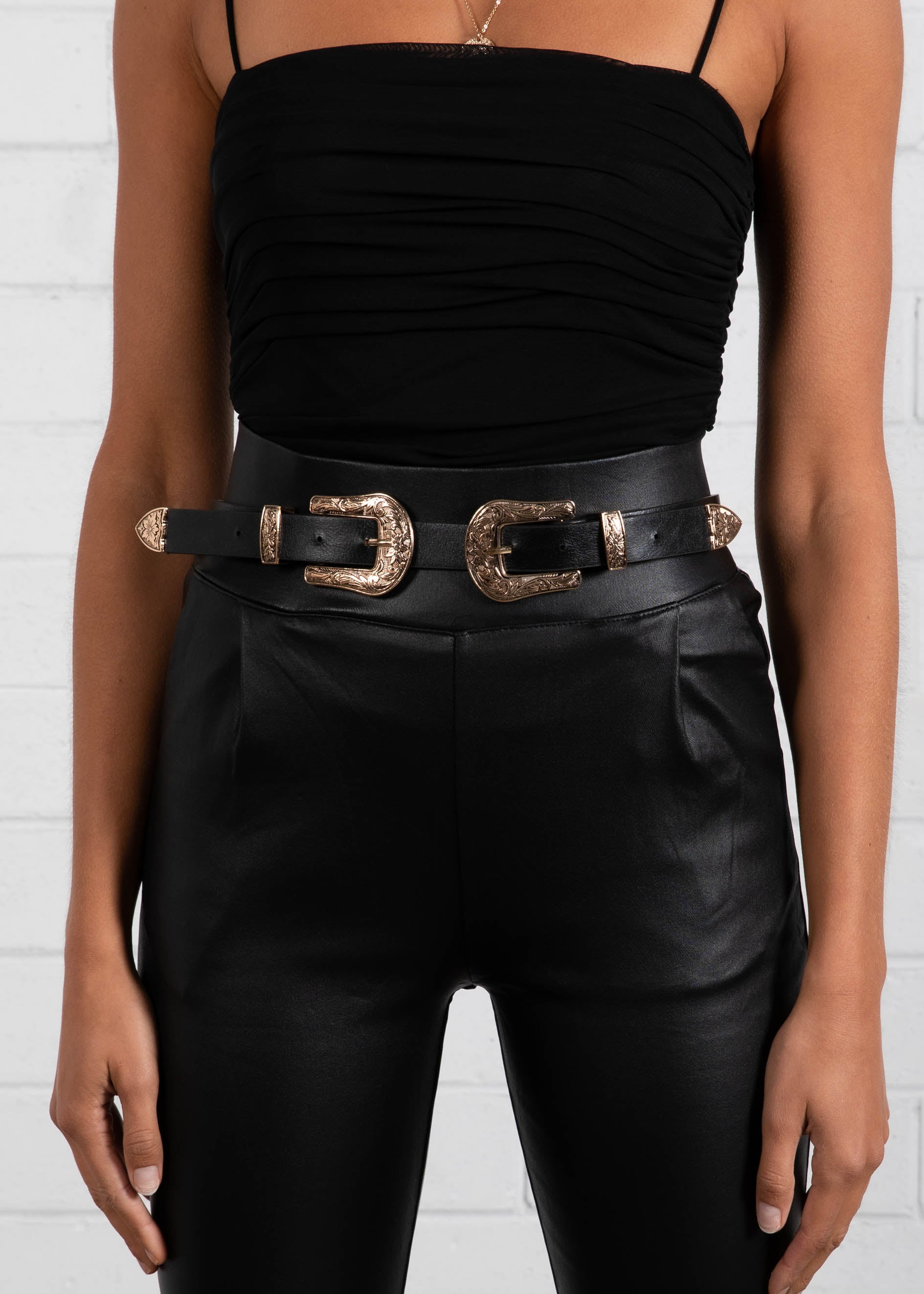 Lucid Thoughts Belt - Black/Gold