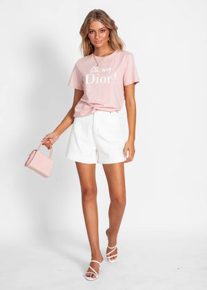 Oh My Dior Tee - Blush