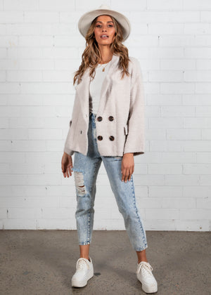 Chantel Jacket - Beige