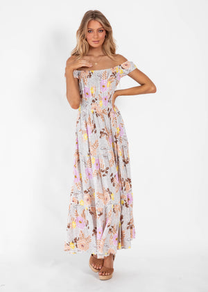 Halluna Maxi Dress - Saphia