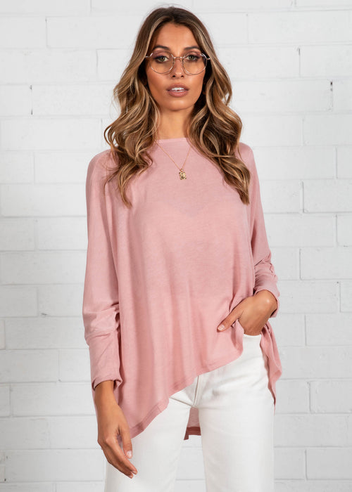 Eda Knit Top - Blush