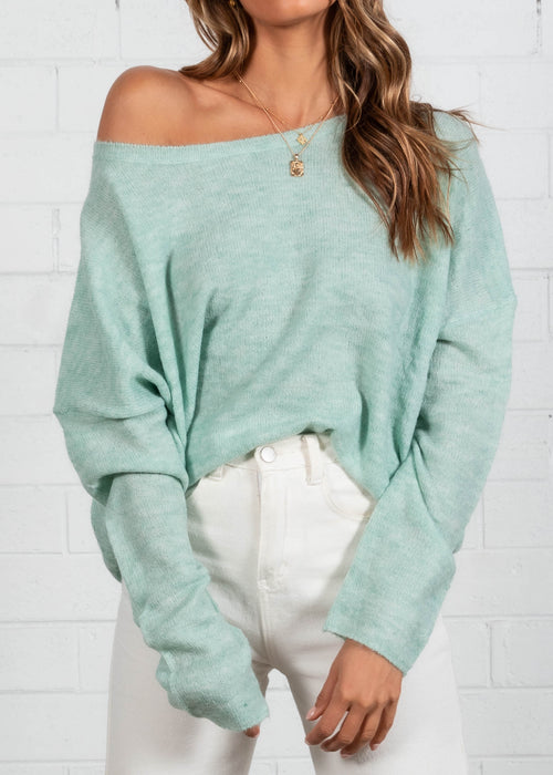 Constance Sweater - Mint