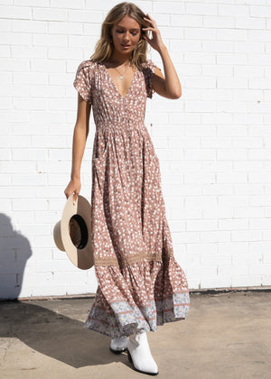 Carmen Maxi Dress - Ottilie