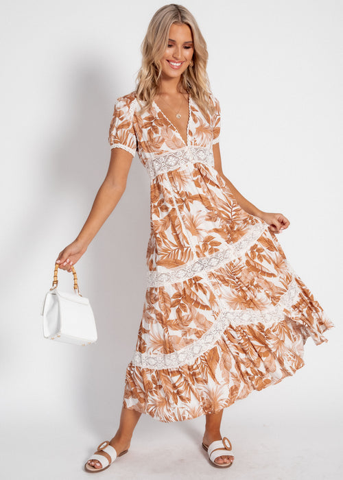 Huntley Maxi Dress - Honeysuckle