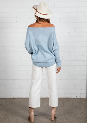 Constance Sweater - Blue