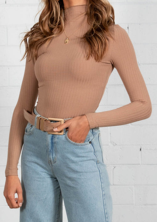 Must Have Knit Top - Latte