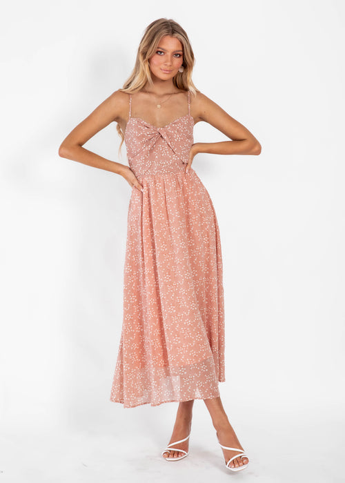 Lets Sway Maxi Dress - Blush