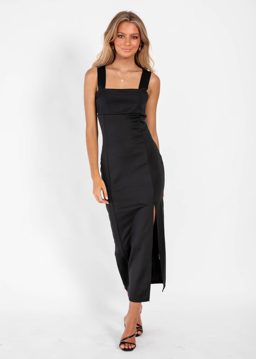 Ruben Maxi Dress - Black